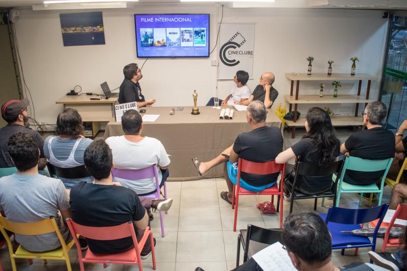 Debate sobre o Oscar 2020, promovido pelo Cineclube Paraense, em parceria com a loja Fox, no último dia 30 de janeiro