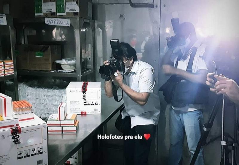 Mácio Ferreira, Wagner Santana e as vacinas