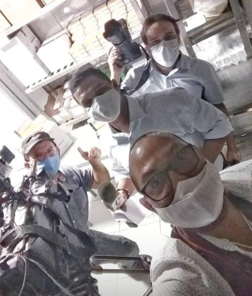 Os meninos e as vacinas, com Wagner Santana, Juraci Rebelo, Carlos Brito e Mácio Ferreira