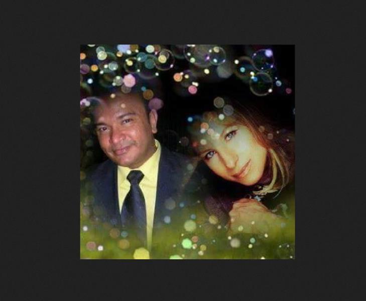 Montagem de foto do fã número 1 de Barbra Streisand, o querido Marcelo Flexa