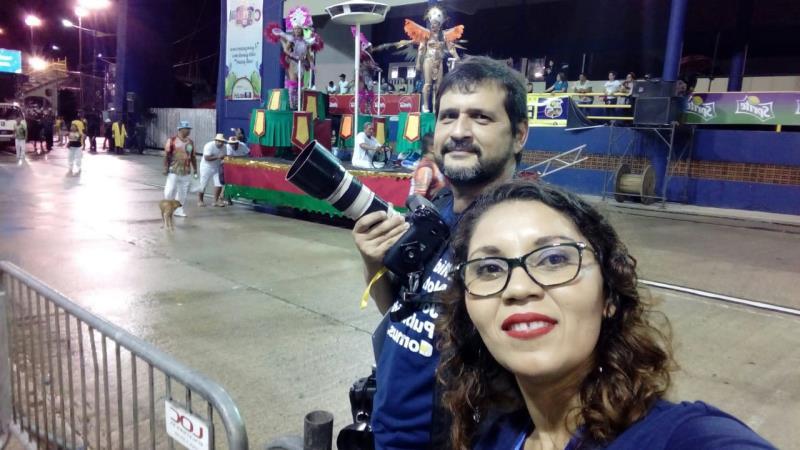 No domingo, 16, no encerramento do Desfile Oficial das Escolas de Samba de Belém, com Tábita Oliveira e Oswaldo Forte