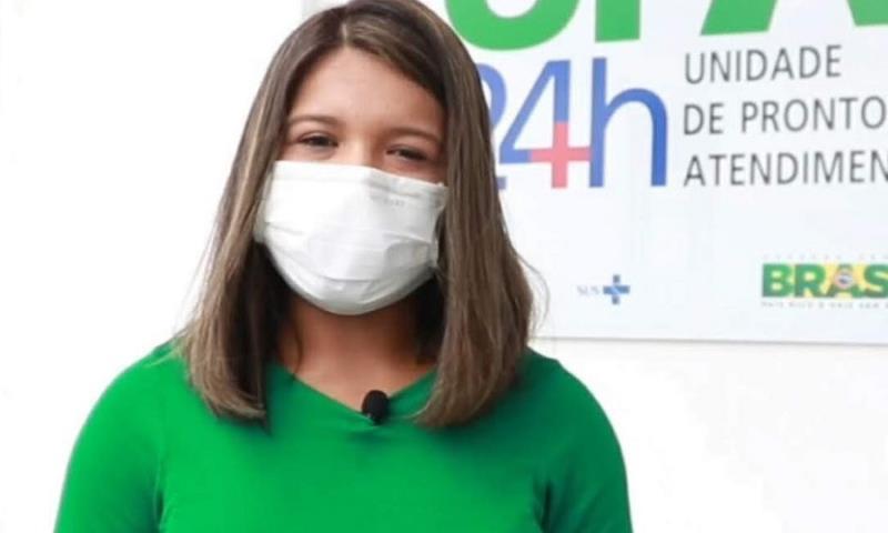 Laiana Damasceno está no portal Roma News