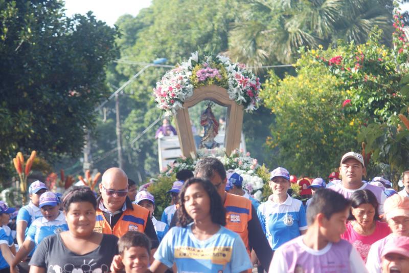 Para a realização do Círio, Outeiro recebeu no domingo o apoio de 25 voluntários da Defesa Civil e Guarda Municipal de Belém (GMB), que disponibilizou um efetivo de seis agentes de segurança.
