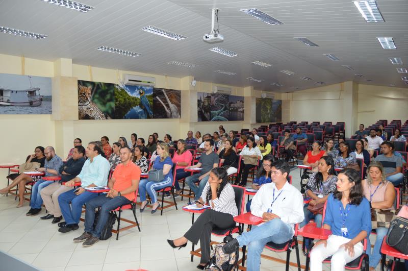 O evento ocorreu na Faculdade Integrada Brasil Amazônia (Fibra) e atraiu um grande público.