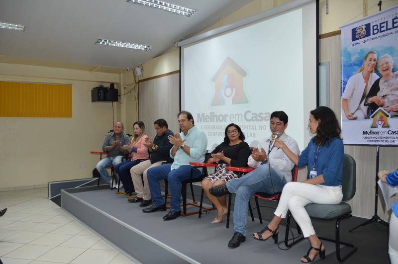 A Prefeitura de Belém, por meio da Sesma, deu início à capacitação de novas equipes do Programa Melhor em Casa.