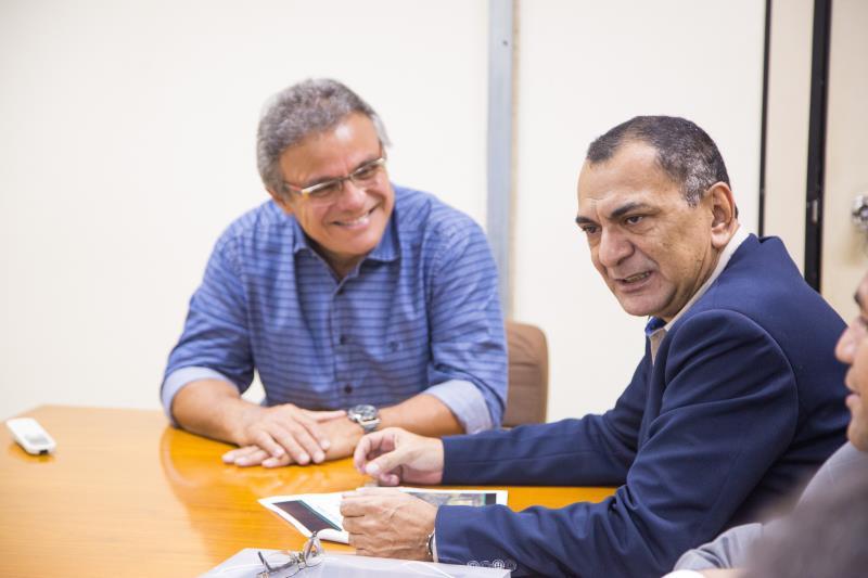 O prefeito Zenaldo Coutinho e o titular da Semma, Pio Neto, destacaram a importância da Implementação do Plano Municipal Urbano de Belém.