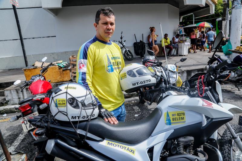 Rômulo mototaxista