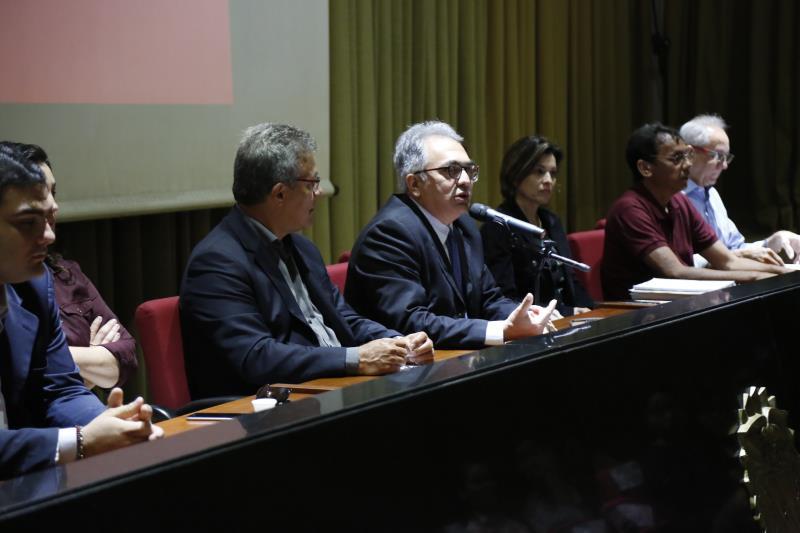 Foram mais de sete horas de audiência pública, com ampla participação da população que mora nas áreas da Bacia do Una.