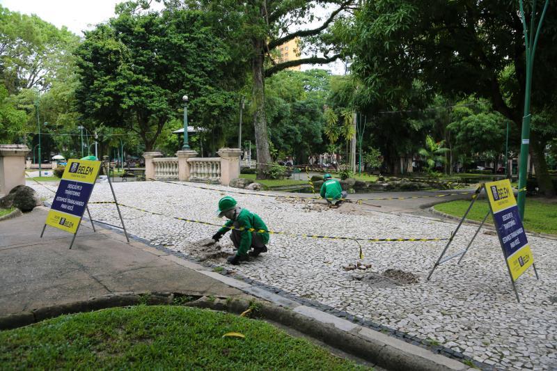 Está prevista ainda a revitalização na área total da praça, que é de cerca de seis mil metros quadrados e necessita de manutenção em outros pontos.