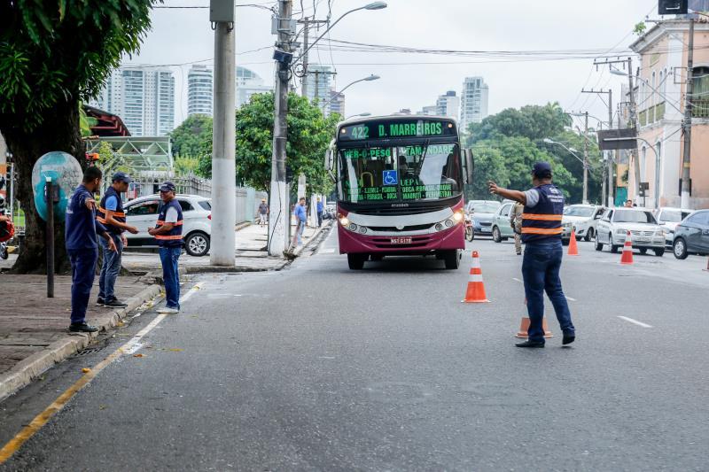 Prefeitura de Belém, por meio da SeMOB, intensifica ações de fiscalização junto às empresas de ônibus responsáveis pela prestação do serviço na capital paraense
