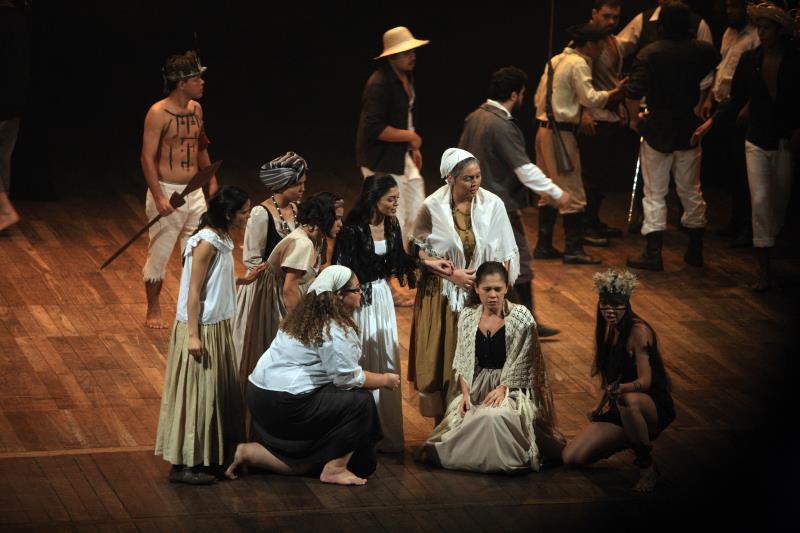 O espetáculo cênico e musical homenageou o movimento da Cabanagem, que completa 184 anos neste mês de janeiro.
