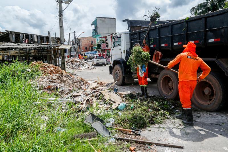 Trabalho de limpeza de canais é contínuo, mobilizando um exército de agentes da Sesan