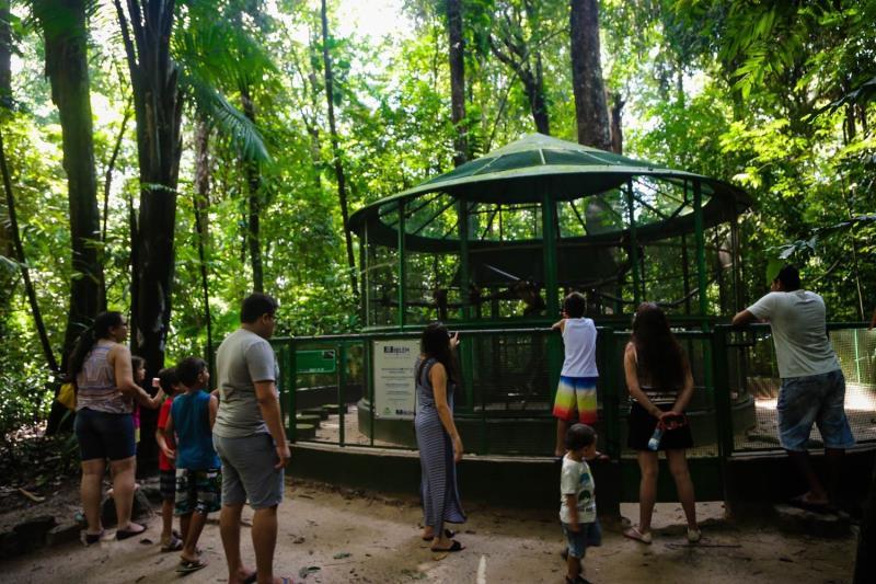 Neste domingo, 20, a visitação foi intensa no encerramento da programação de aniversário dos 403 anos de Belém.