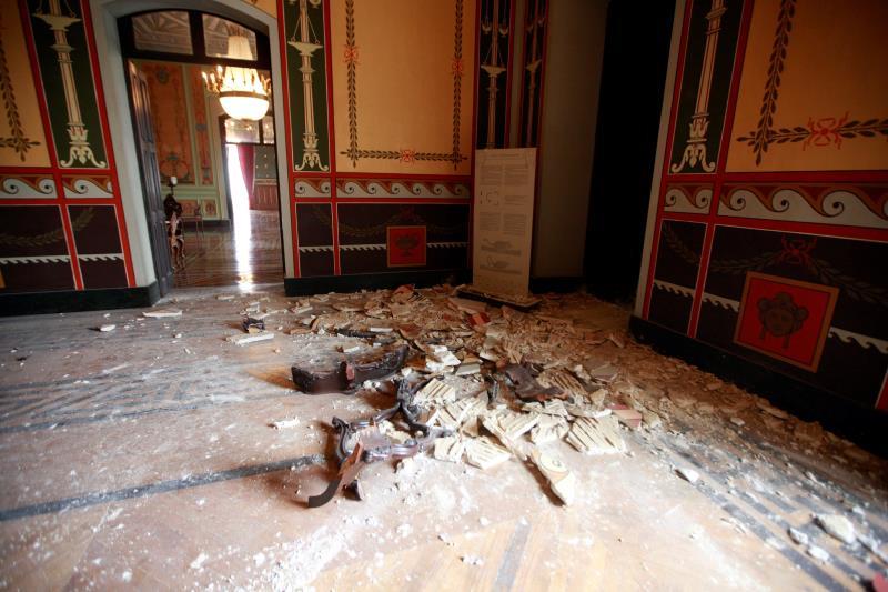 A última reforma no Palácio ocorreu em 2008. Parte do forro do Salão Pompeano desabou em 2012, tendo sido feito apenas um reparo paliativo.