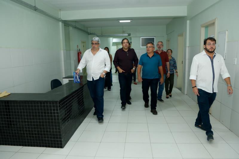 O prefeito de Belém, Zenaldo Coutinho, visitou a obra, que está na etapa final.  O investimento da Prefeitura no novo hospital é de cerca de R$ 600 mil.
