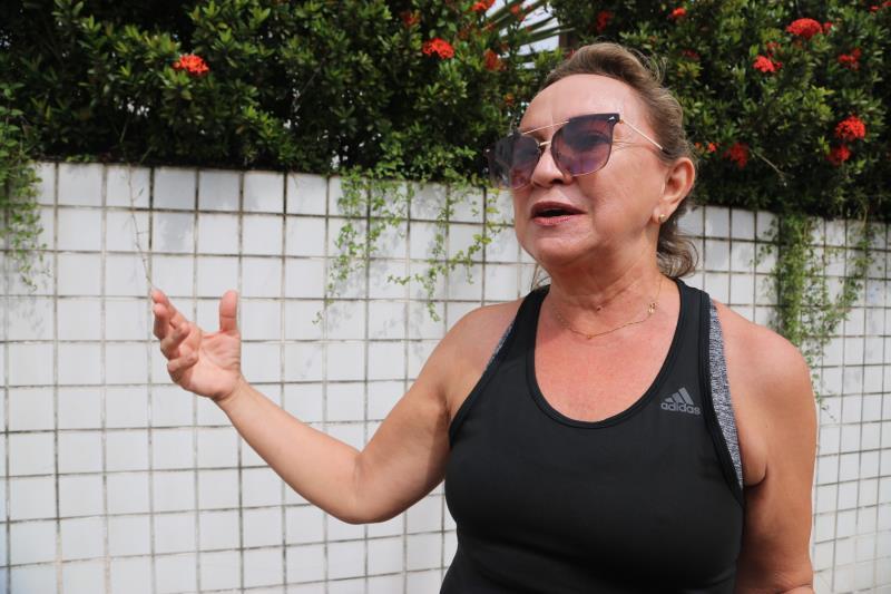 Rita Silva, de 54 anos, que mora às proximidades do hospital, estava passando a pé, e se surpreendeu em saber que o local será de atendimento público e não mais privado, como foi na época do Samaritano.