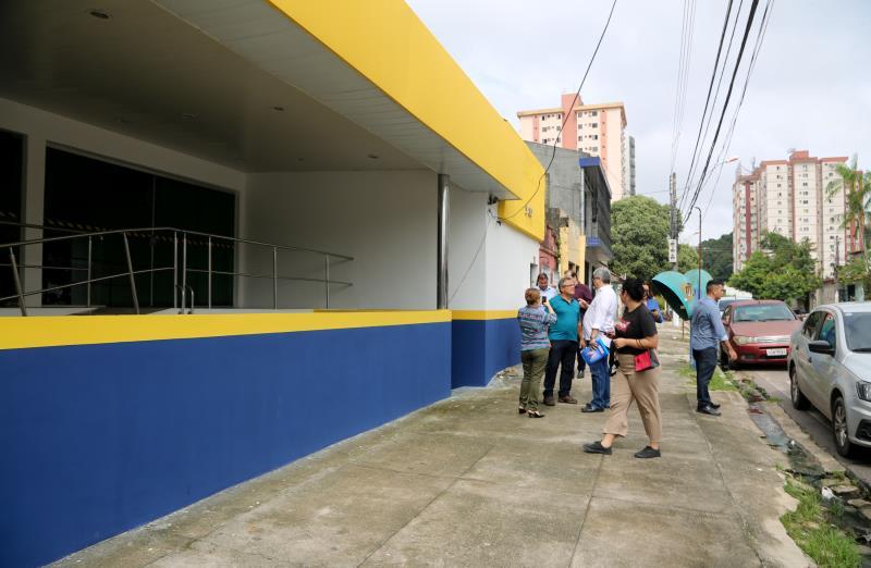 O novo espaço é a reestruturação do antigo Hospital Samaritano, que foi adquirido pela Prefeitura de Belém, por meio da Secretaria de Saúde (Sesma), no ano de 2016.