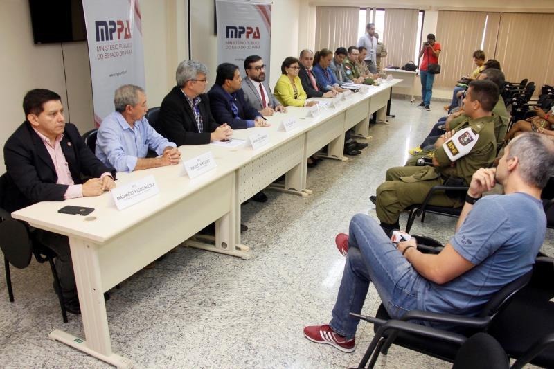 A liberação do Mangueirão para o jogo do próximo domingo foi divulgada nesta quinta em entrevista coletiva no Ministério Público do Estado