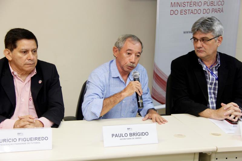O engenheiro civil Paulo Brígido detalhou a realização de um levantamento completo da situação do estádio