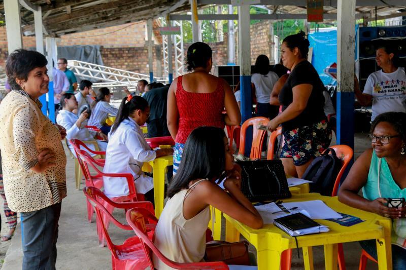 O evento é uma iniciativa da Prefeitura de Belém, por meio da Administração Regional do Outeiro (Arout), que visa oferecer diversos serviços para as comunidades das ilhas.