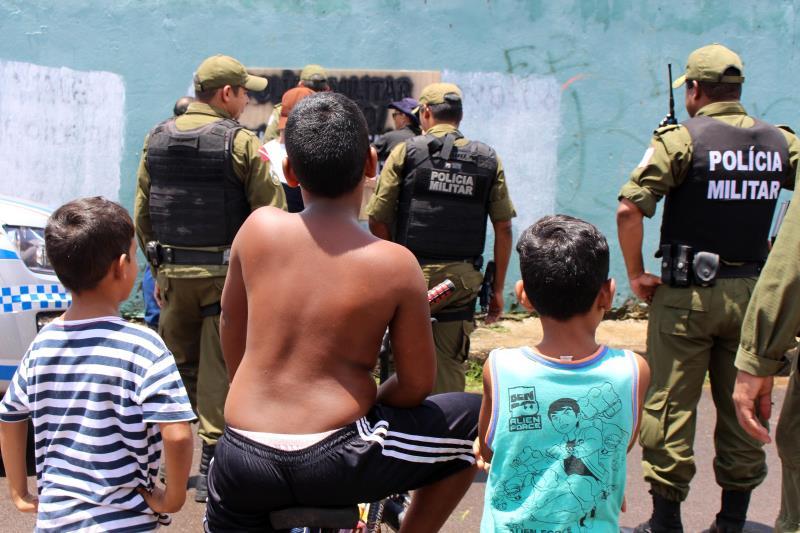De acordo com o coronel Albernando Monteiro, comandante da CPRM, outros 11 pontos de pichação com conteúdo criminoso foram identificados.