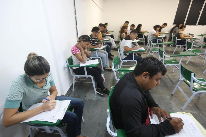 A nova prova para o cargo de agente de educação de trânsito do Concurso C-177, do Detran Pará, foi marcada para o dia 28 de abril, somente em Belém, de 8h às 12h, com abertura dos portões às 7h da manhã.