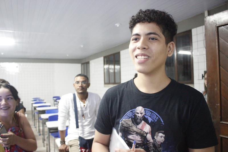 Ex aluno da Funbosque, Renan Oliveira