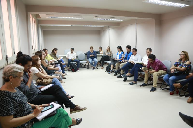 Representantes da Prefeitura de Belém participaram de visitas junto com integrantes do Unicef e do Alto Comissariado das Nações Unidas para Refugiados (Cnur) sobre os indígenas Warao