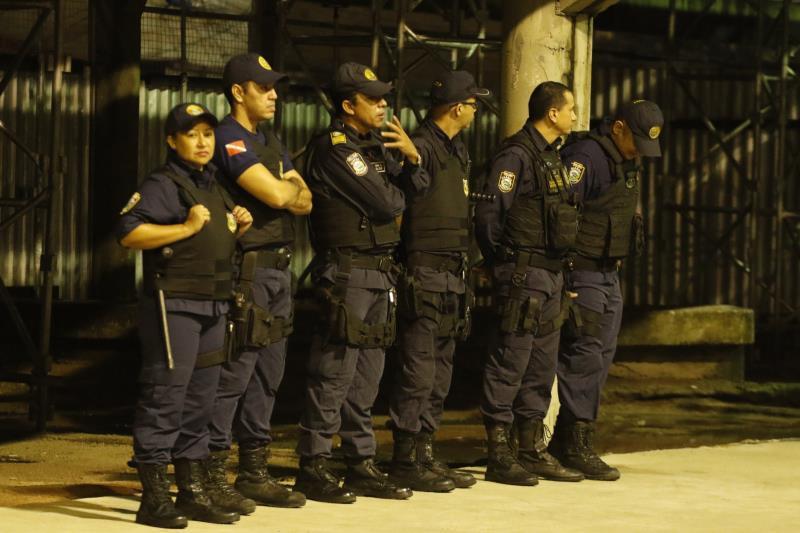 Durante a programação haverá um efetivo de 350 servidores da Guarda Municipal de Belém (GMB), em dois turnos, atuando em todo o entorno da Aldeia Amazônica, principalmente na área interna