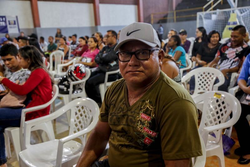 Deocrécio dos Santos disse que espera se mudar logo, com a família, para o apartamento próprio