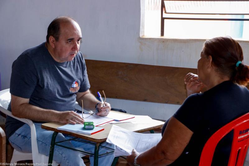 Projeto Governo em Ação chega ao bairro do Palmares.