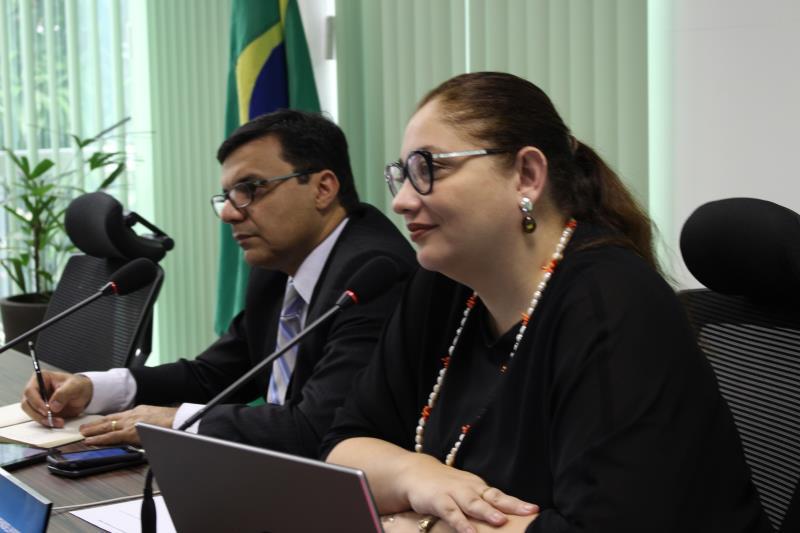 A nova diretoria do Conselho Estadual de Recursos Hídricos (CERH) realizou a primeira reunião ordinária do ano, nesta quarta-feira (27), no Centro Integrado de Monitoramento Ambiental (Cimam), em Belém