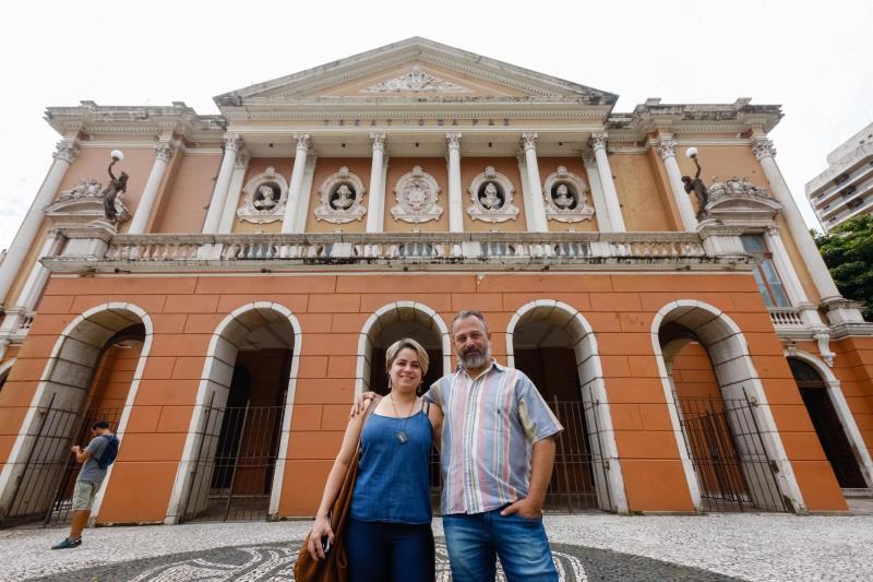 A importância desse ponto turístico é reconhecida não só pelo povo paraense, mas por turistas, como é o caso dos sul-mato-grossenses Henrique Barrios e Bianca Segati, que estão na capital a passeio.