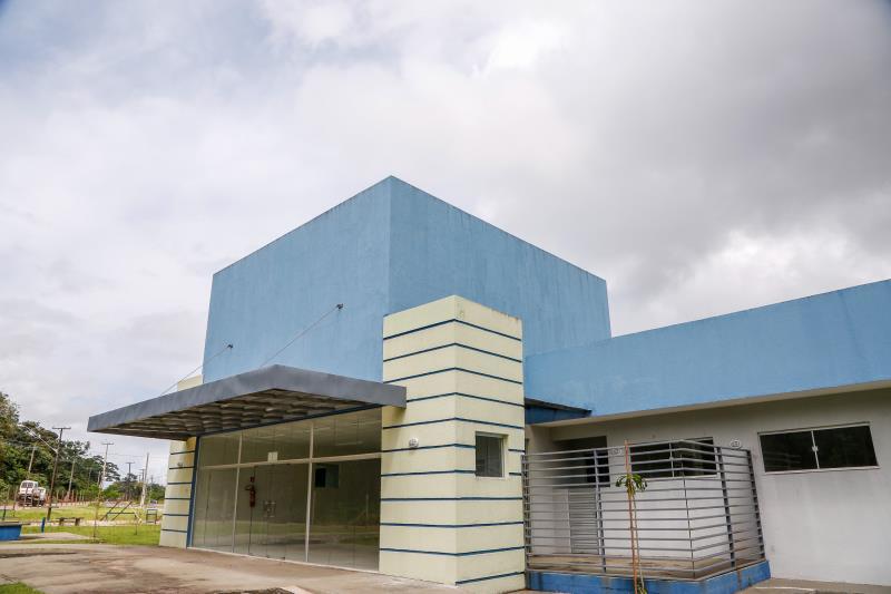 O residencial conta com um posto de saúde