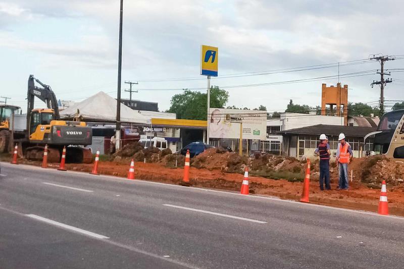 O projeto das obras do Sistema Troncal de Ônibus da Região Metropolitana de Belém abrange trechos que cruzam os municípios de Belém, Ananindeua e Marituba, somando 10,8 quilômetros de extensão.