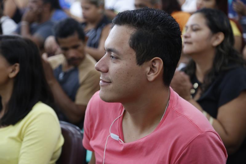 Cleiton dos Santos é técnico em alimentação, foi aprovado para o cargo de merendeiro e espera contribuir na merenda escolar