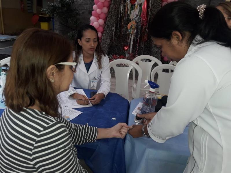 A programação no Hospital Ophir Loyola ofertou exames essenciais para avaliação de risco da doença renal, como aferição de pressão arterial, verificação de glicemia e medida do índice de massa corporal
