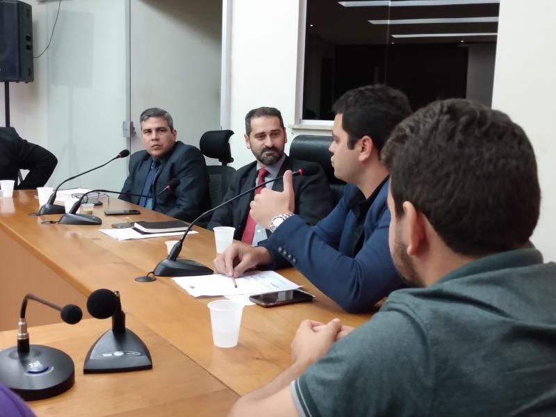 O secretário de Estado de Segurança Pública, Ualame Machado, discutiu ações de combate à criminalidade no município de Breu Branco, no sudeste paraense, que tem mais de 64 mil habitantes