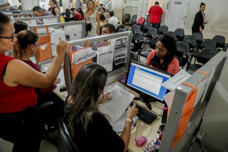 A autônoma Sílvia Ferreira fez a inscrição nos benefícios oferecidos pelos órgãos envolvidos nas ações de assistência