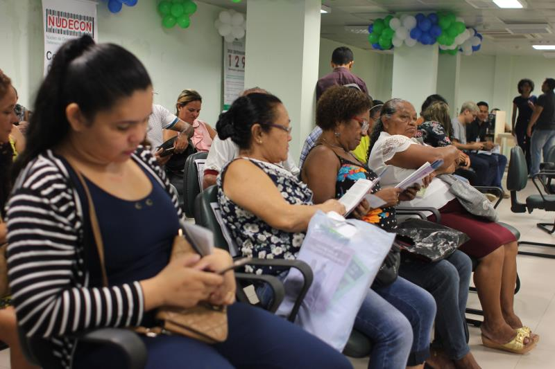 Com mais de 80 atendimentos agendados previamente, a expectativa da Defensoria era beneficiar, ao longo do dia, 400 pessoas