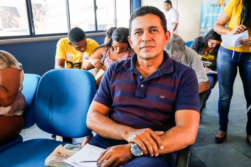 Moisés Alhadef Junior disse que está em busca de qualificação, e recebendo informações para se recolocar no mercado de trabalho, qualificado e com mais oportunidades