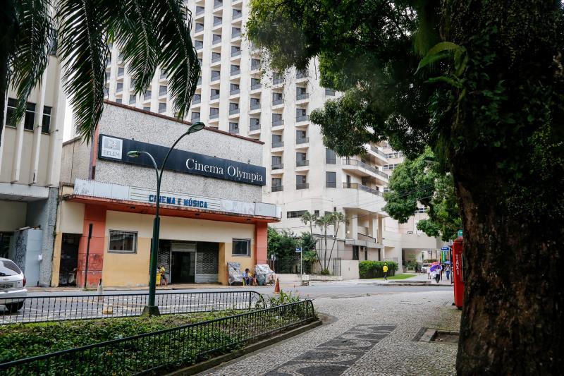 Encravado no meio da região mais Belle Époque de Belém, Olympia se mantém como o mais antigo cinema em funcionamento no Brasil