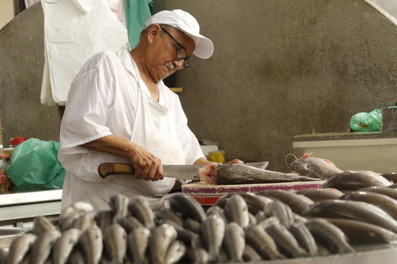 Pela primeira vez no ano, no mês de março o pescado comercializado nas feiras e mercados municipais de Belém apresentou queda de preço