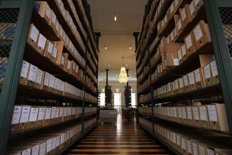 Uma das mais antigas instituições do Estado completa 118 anos no dia 16 de abril. O Arquivo Público do Estado do Pará (Apep) é a organização que mantém viva e acessível aos paraenses diversos arquivos, documentos e registros históricos que ajudam a contar a história da região.  FOTO: RODOLFO OLIVEIRA / arquivo / AG. PARÁ DATA: 13.04.2019 BELÉM - PARÁ