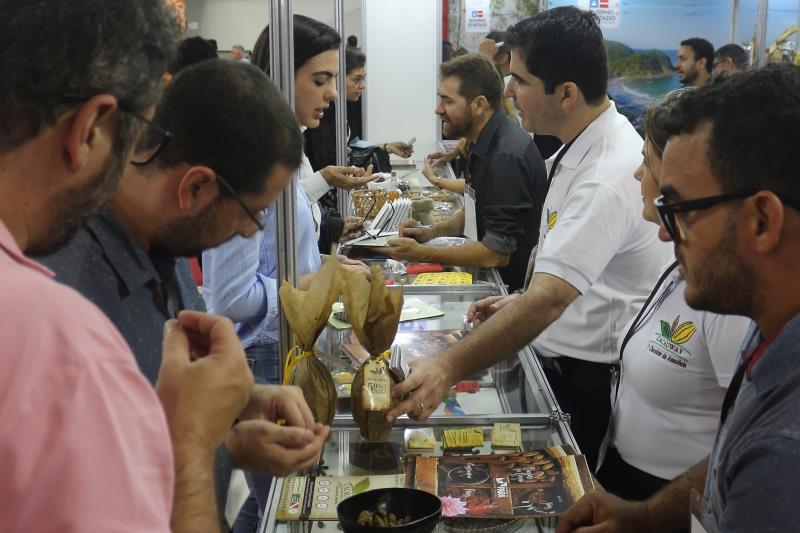 O Pará participou ativamente do festival internacional e leva para casa importantes aprendizagens para os próximos eventos do setor que devem ocorrer ainda este ano, como o festival internacional do chocolate na Bahia, em julho e o do Pará, previsto para ser realizado de 17 até 22 de setembro.  FOTO: ASCOM / SEMAS DATA: 15.04.2019 SÃO PAULO - SP