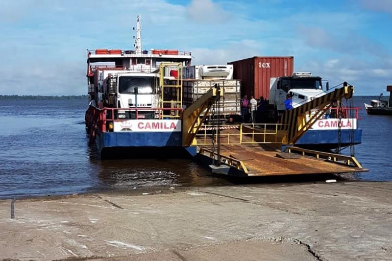A Agência de Regulação e Controle dos Serviços Públicos do Pará (Arcon-Pa) iniciou, na manhã desta segunda-feira (15), no porto de Icoaraci, a travessia para Barcarena via ferry boat.   FOTO:ASCOM /  ARCON  DATA: 15.04.2019 ICOARACI - PARÁ