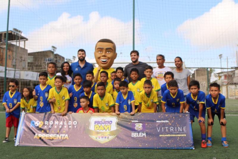 A franquia espalhada pelo Brasil e em outros países chegou a Belém recentemente, e faz parte de uma iniciativa do ex-jogador da seleção brasileira de futebol Ronaldo Nazário.