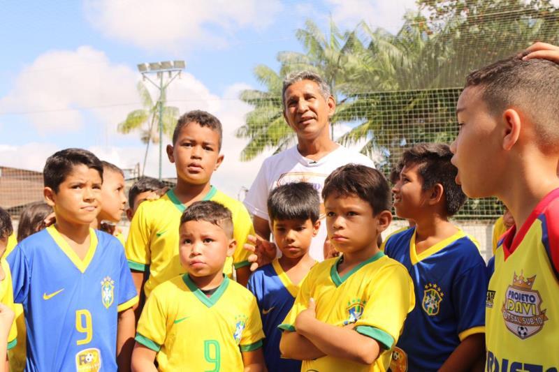 Davi Rodrigues, um dos idealizadores do Projeto Davi, garante que a comunidade do Jurunas só tem a ganhar com essa parceria.