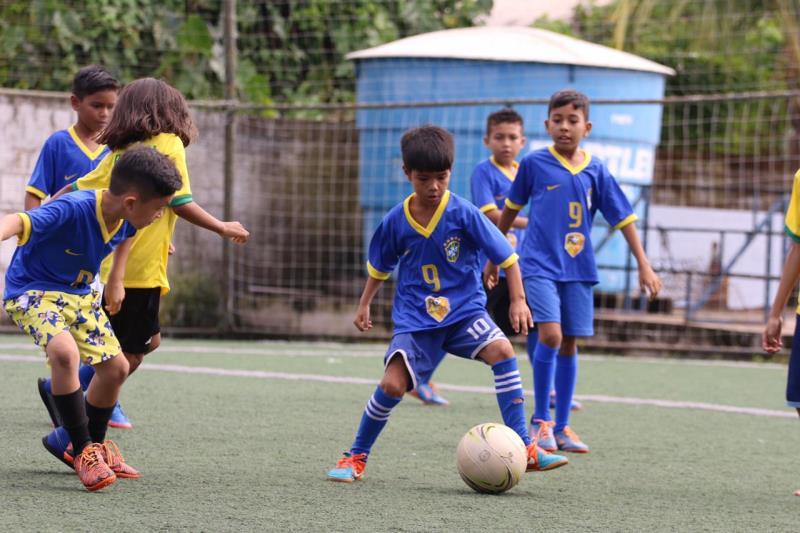 O esporte é uma ferramenta de transformação e está alimentando o sonho de mais de 300 crianças do bairro do Jurunas.