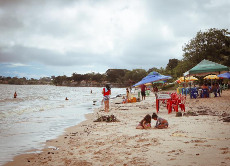 A ilha de Mosqueiro vem recebendo diversos investimentos da Prefeitura de Belém.